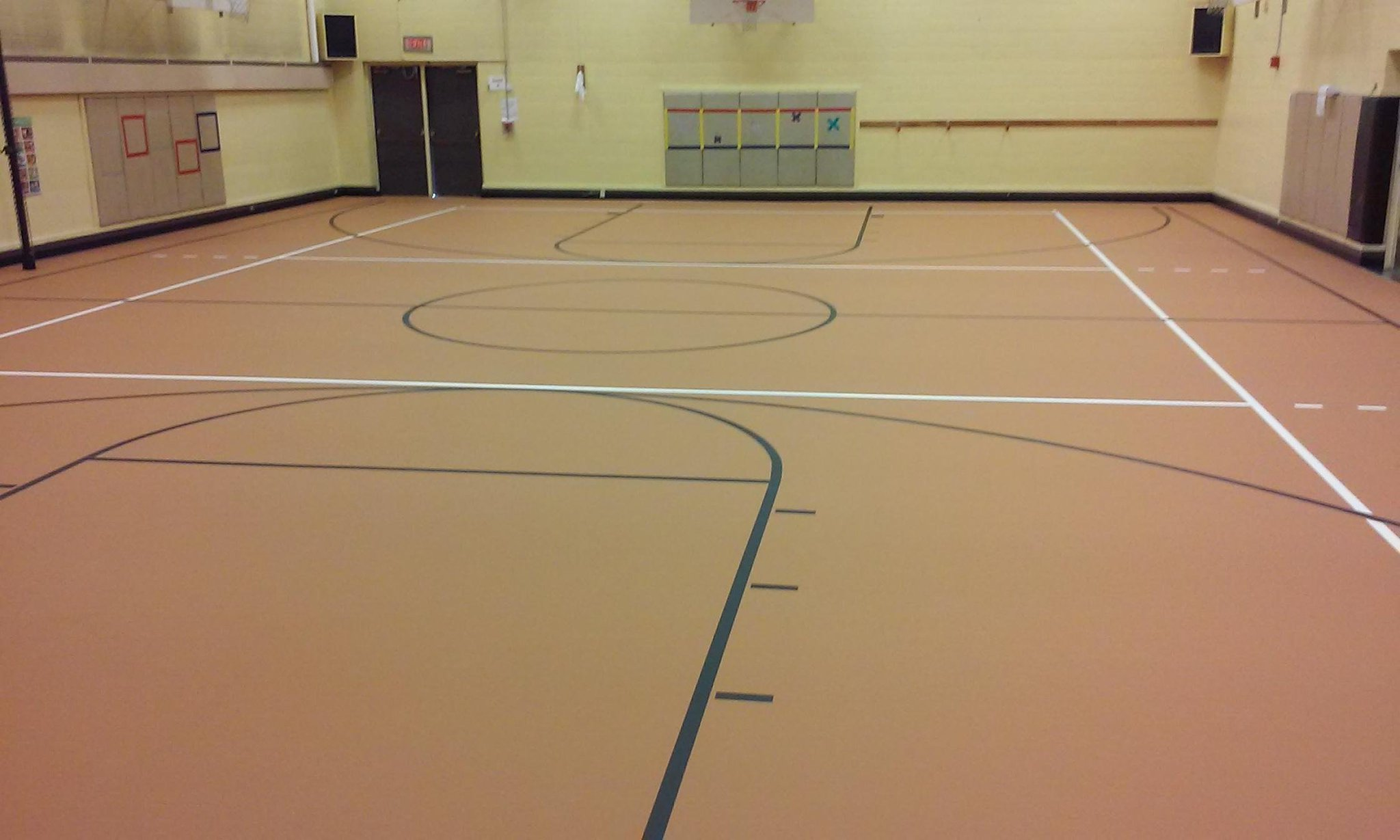High School Gym Floors