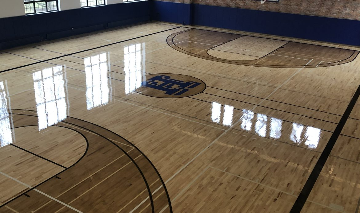 Alumni Gym floor image